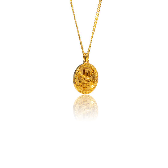 PurpleCoin Gold Pendant