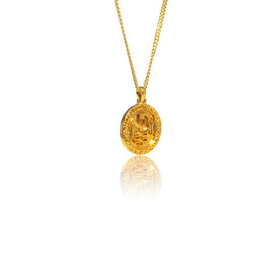 PurpleCoin Gold Pendant