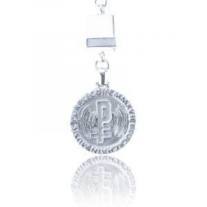 PurpleCoin Silver Pendant